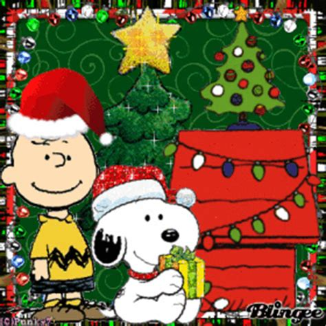 snoopys christmas animated pictures  sharing  blingeecom