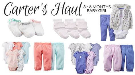 Slaber Carters Baby Grow baby haul 3 month pretty neat living