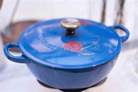 le creuset disney williams sonoma beauty and the beast blogger event in