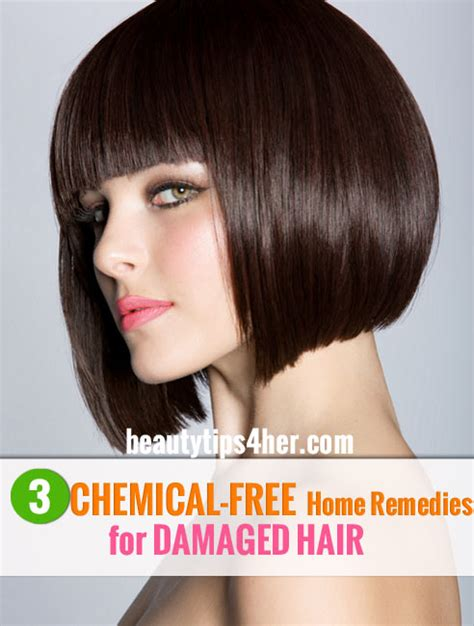 rescue damaged hair with these 3 chemical free home