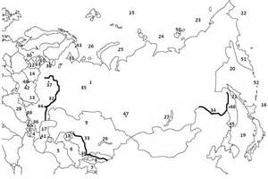 Outline Map Of Russia And Northern Eurasia by Blank Map Russia And Republics