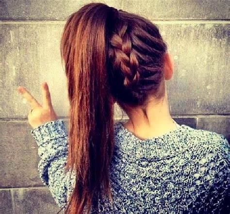 how to do an upside down french braid bun upside down french braid with a ponytail hair beauty