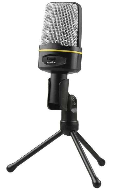 35mm Audio Untuk Headphone Dan Microphone U Splitter Converter 1 mikrofon smooth 3 5mm dengan stand black