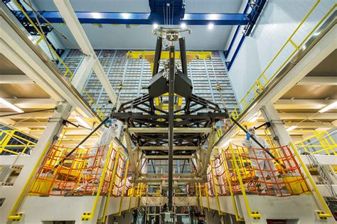 the room telescope webb space telescope quot pathfinder quot backplane in the cleanroom nasa