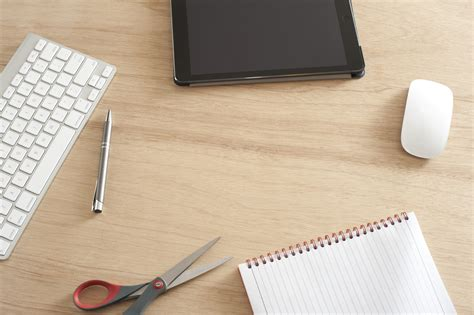 desk office supplies free stock photo 11907 desk with scattered office supplies