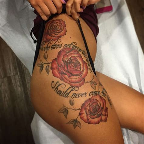 hip rose tattoo designs 30 sensuous flower hip tattoos and designs