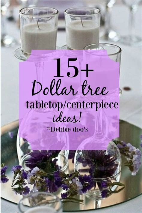 dollar tree table 15 dollar tree tabletop ideas tabletop centerpieces