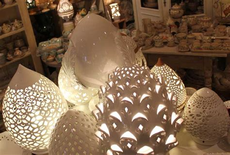 applique artigianali favoloso lade ceramica traforata ln26 pineglen