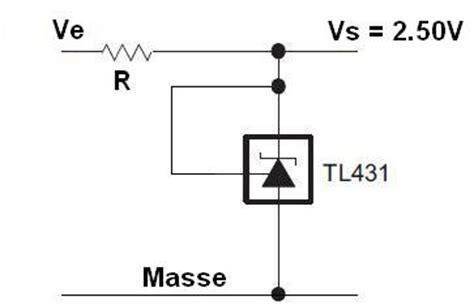tl431 resistor calculator regulateur et reference de tension tl431 montages 1