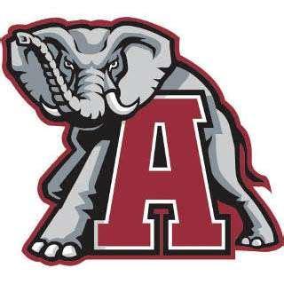 roll tide university of alabama handmade football fan alabama elephant signtorch turning images into vector