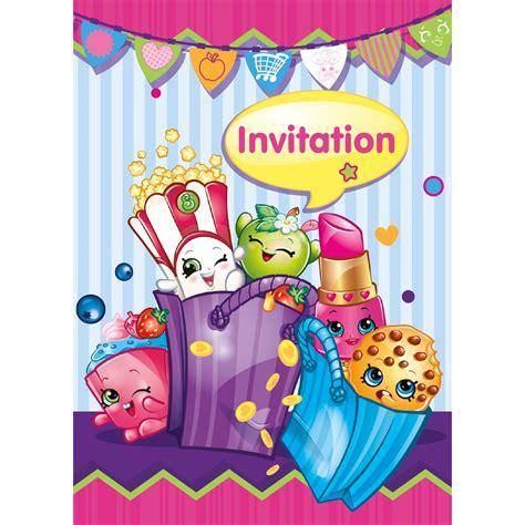 Home Decoration Stickers shopkins invitations birthdayexpress com