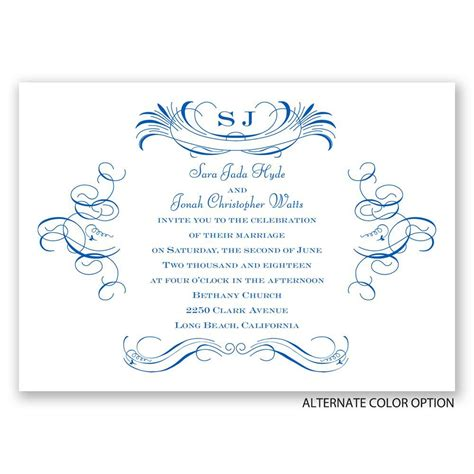 Pretty Wedding Invitations by Pretty Swirls Invitation S Bridal Bargains