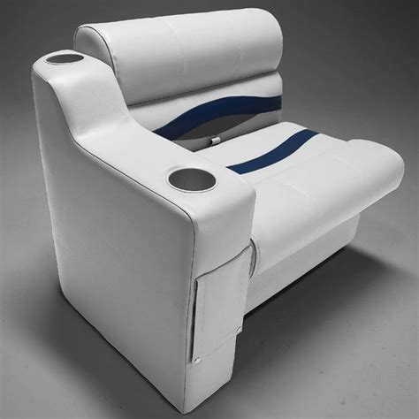 boat seats with arms right pontoon boat seat arm pontoonstuff