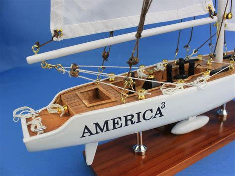 Sailboat Models For Decoration by America3 23 Quot Model Sailboat Decorations Models Boat Scale