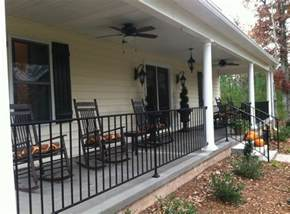 metal front porch railings interesting ideas for home