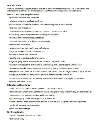 the duties of pharmaceutical sales representatives chron com