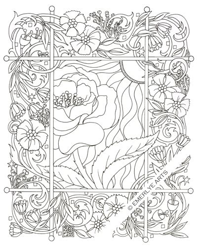 rose coloring page for adults free adult roses coloring pages