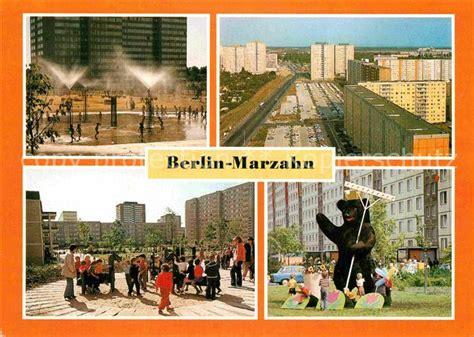 berlin seit wann hauptstadt ak ansichtskarte marzahn berlin grosssiedlung