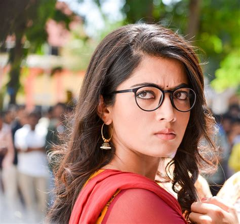 cinema heroine photos full hd rashmika mandanna new latest hd photos chalo geetha