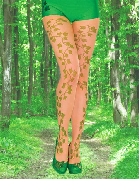 ivy pattern tights poison ivy costumes for halloween halloweencostumes com