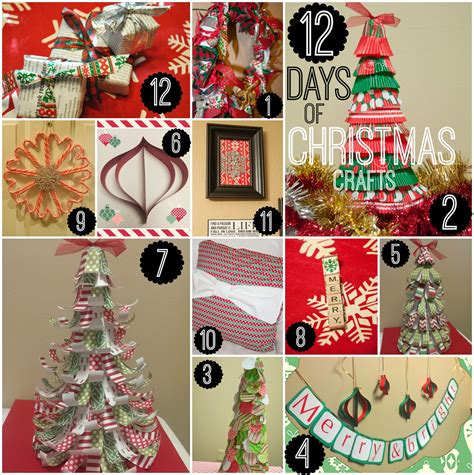 all 12 days of christmas crafts all that glitters