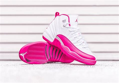 new valentines jordans air 12 pink s day release date