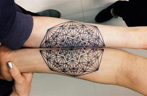 tattoo mandala unterarm partner tattoos als zeichen der liebe 21 herrliche ideen