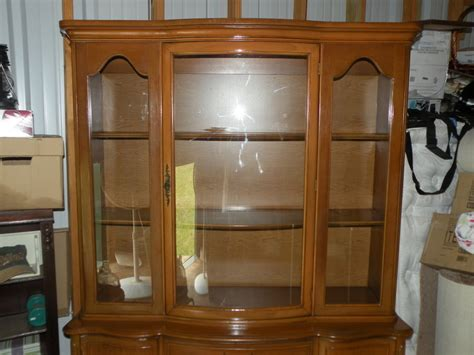 1960s China Cabinet by Need To Identify China Cabinet 1960s Broyhill
