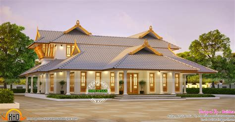 nalukettu house 3000 sq ft modern villa plan keralahousedesigns