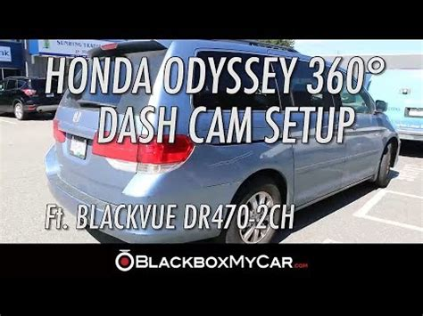 Blackvue Blackbox Mobil Dr490l 2ch 4 channel blackvue dashcam setup in minivan blackvue
