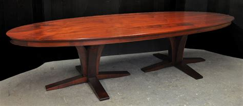 Oblong Table A Double Pedestal Oval Dining Table Finewoodworking