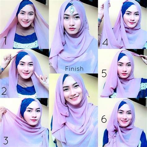 tutorial hijab pesta mewah 25 kreasi tutorial hijab pesta simple terbaru 2018