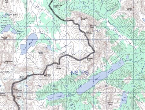 topo map topographic maps canada