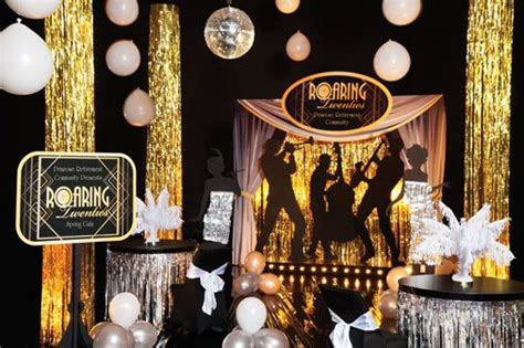 1920 theme decorations roaring 20 s photo props roaring twenties