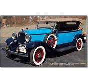 1931 And 1932 Plymouth PA Cars