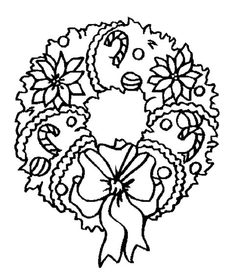 wreath coloring page wreath coloring pages