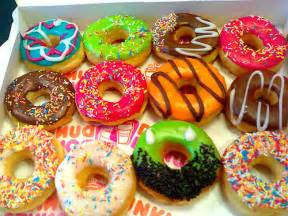 colorful donuts blue colorful donuts dunkin donuts green image
