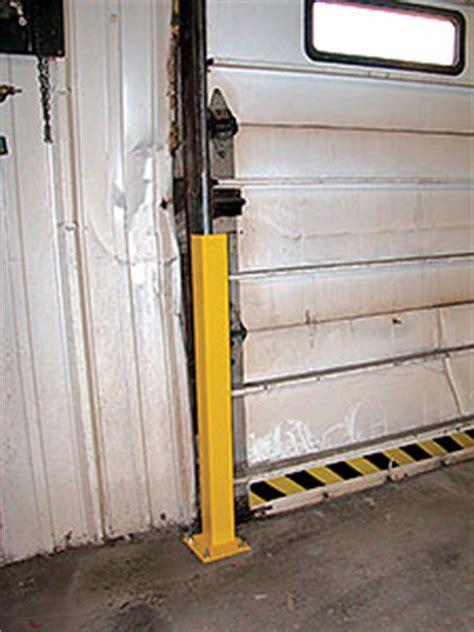 Overhead Door Track Guards Vestil Dsp Overhead Door Track Protectors For Sale