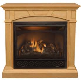 shop procom 48 quot vent free gas fireplace at lowes