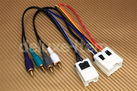 premium sound system wiring harness  installing aftermarket car stereo radio ebay