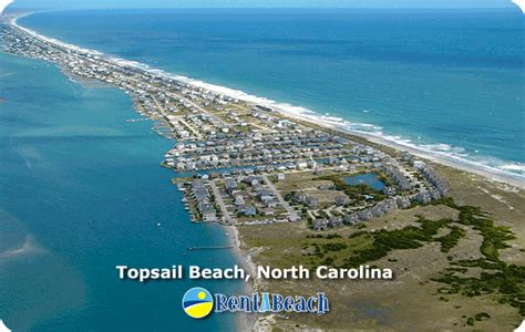 topsail island house rentals topsail beach vacation rentals
