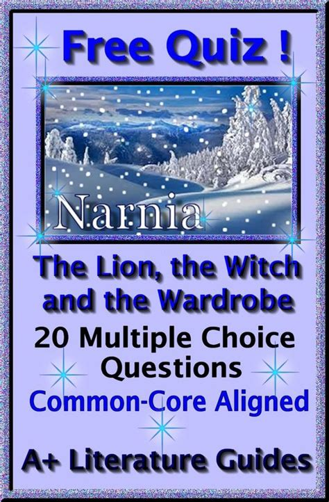 The The Witch And The Wardrobe Questions by Free 20 Question Choice Quiz For The The