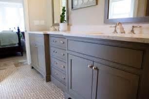 bathroom cabinets floor bathrooms white gray basketweave tiles floor bathroom