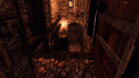 model medieval dungeon vr ar  poly obj ds fbx
