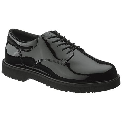 bates oxford shoes s bates 174 high gloss duty oxford shoes black