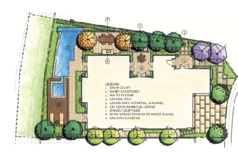 landscape layout android not working luxury landscape design plan by integration design studio