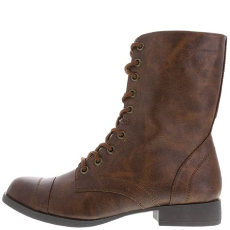 womens brash s lace up boot payless shoes