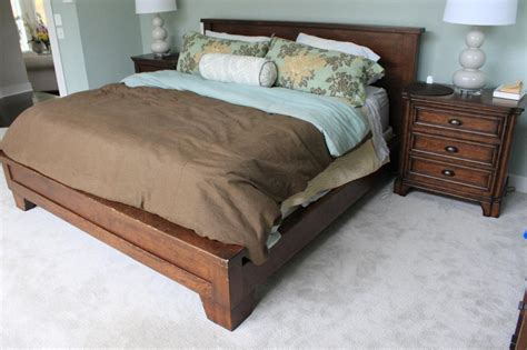 pottery barn king bed pottery barn king size bed frame bed fr whiteford