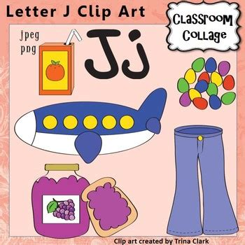 color that starts with the letter j alphabet clip letter j things start with j color