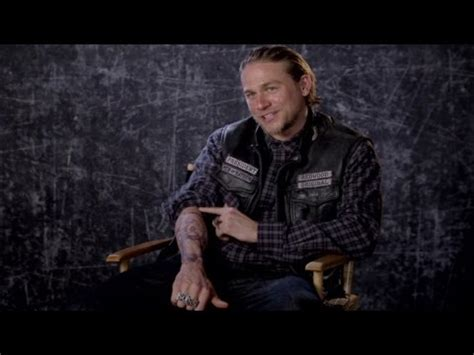 charlie hunnam tattoo sons of anarchy hunnam almost got one of
